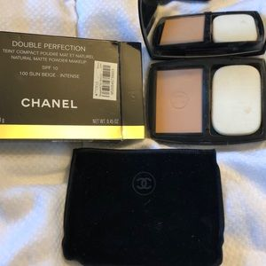 "CHANEL double perfection powder ""sun beige"""